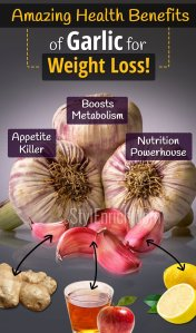 Amazing health benefits of garlic for weight loss