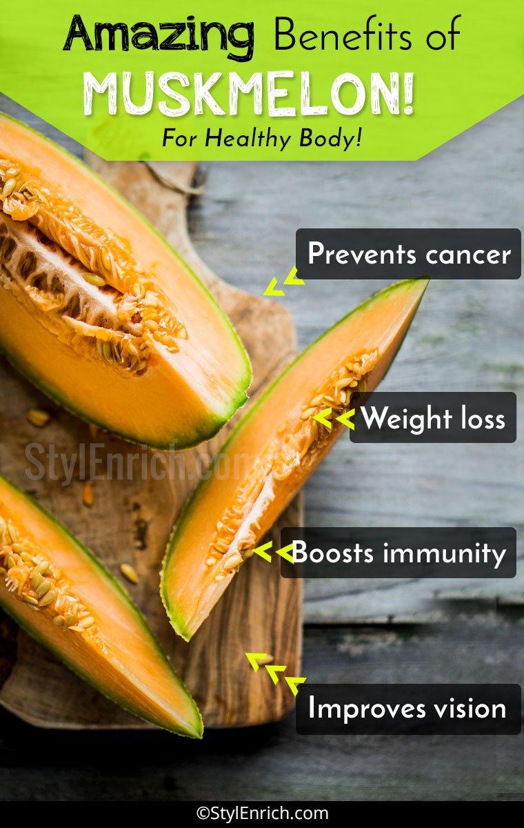 Muskmelon Benefits for Health