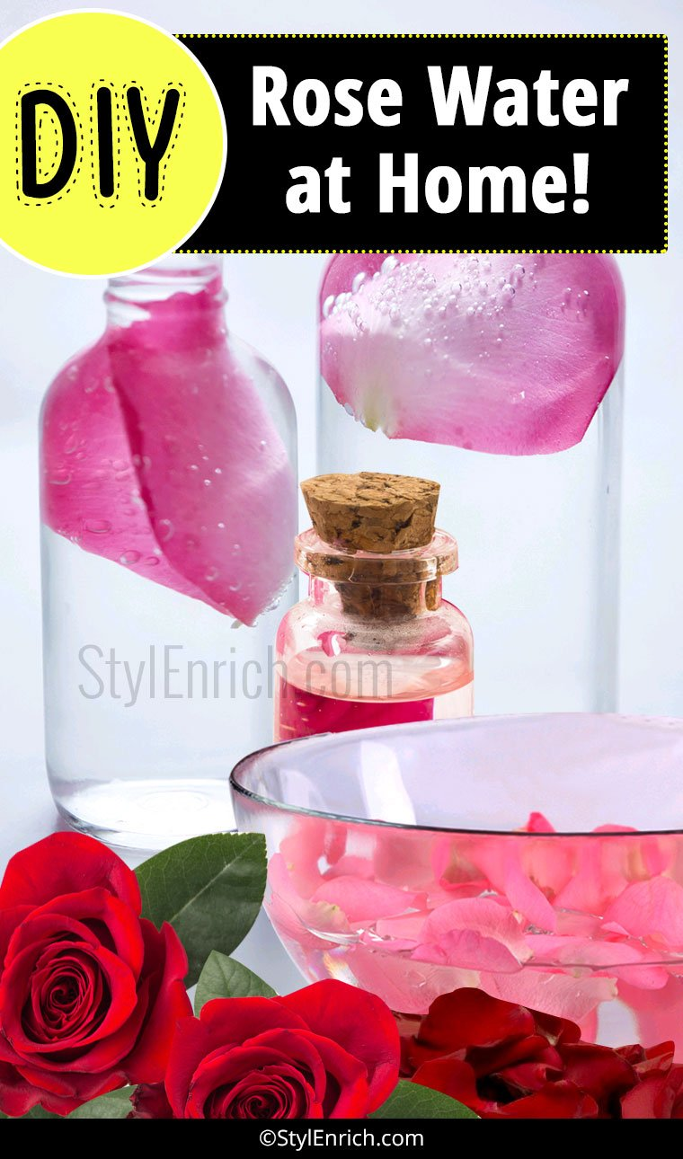 How to Make Rose Water?