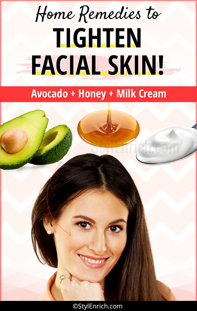 How to tighten skin on face?