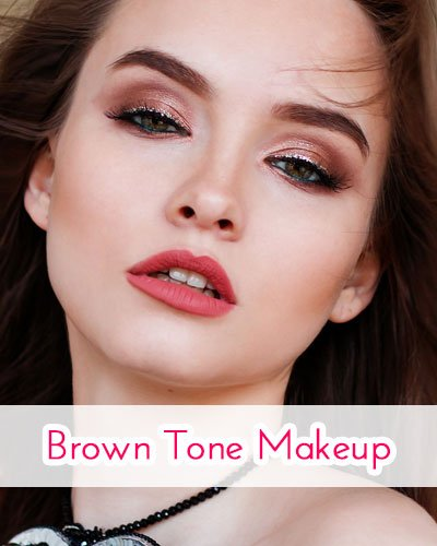 Brown Tone Makeup