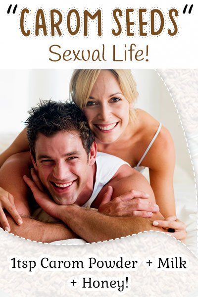 Carom Seeds and Sexual Life