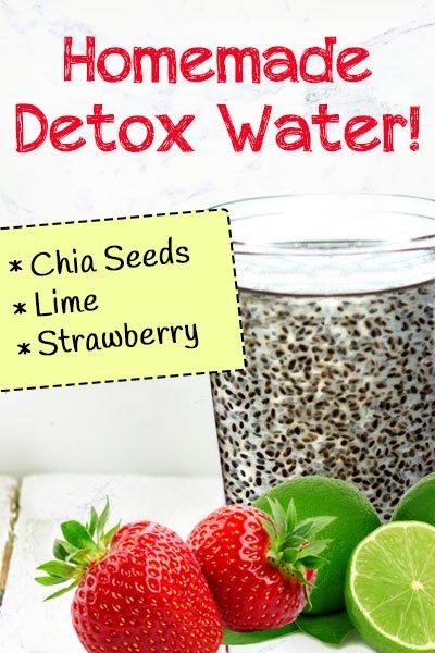 Chia Fruit Homemade Detox Drinks