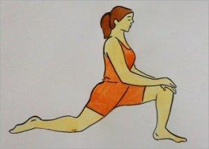 Hip Flexing Stretch