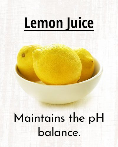 Lemon Juice For Sweat Free Summer