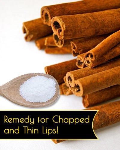 Salt and Cinnamon Lip Plumper Recipe
