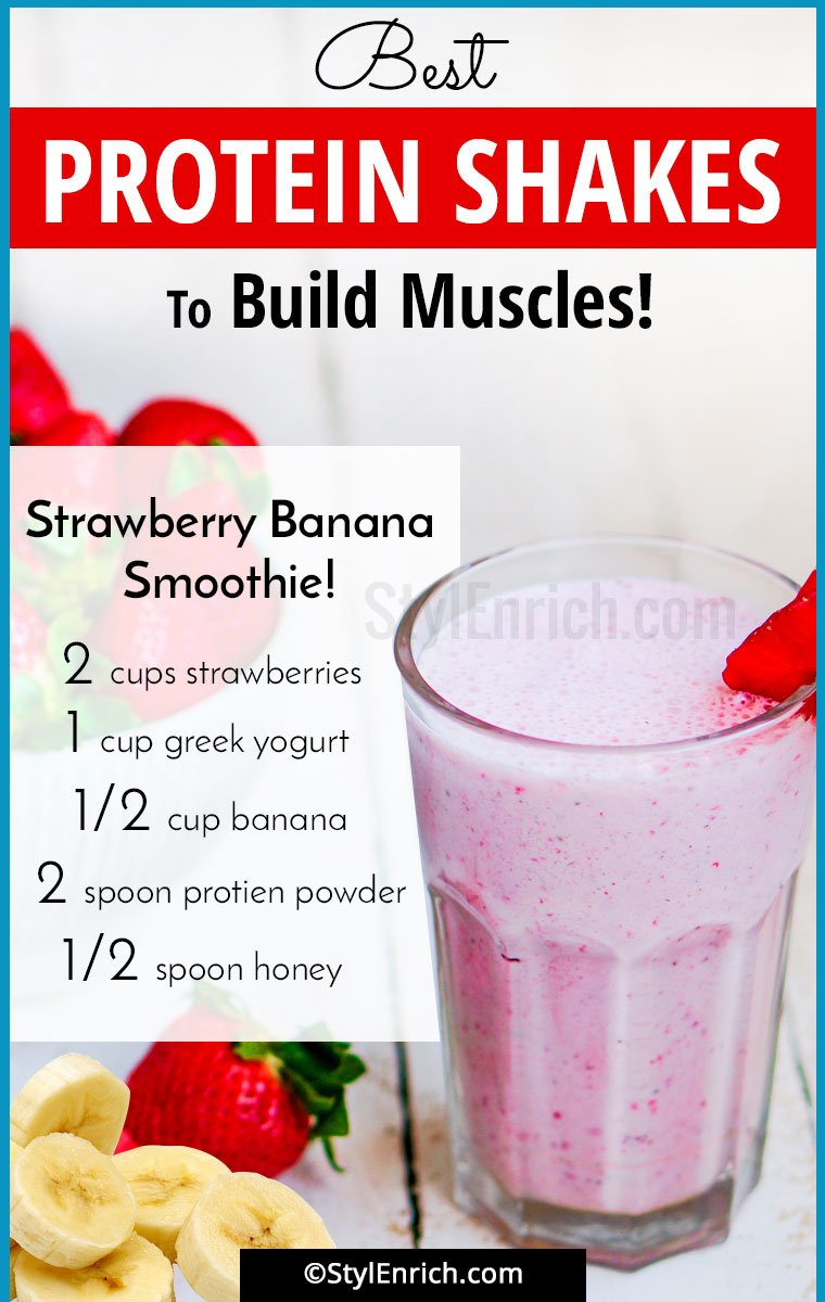 Homemade Protein Shakes For Muscle Building