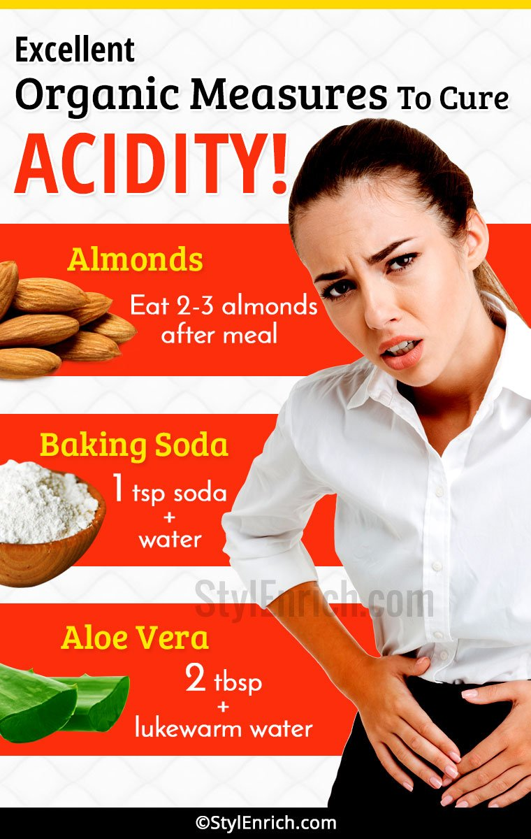Organic Home Remedies for Acidity