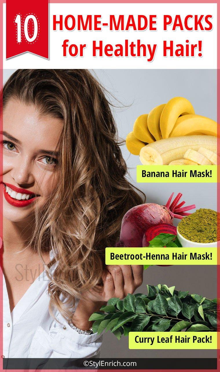 DIY Hair Masks For Healthy Hair