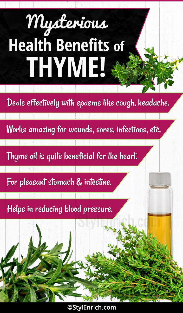 Thyme Benefits