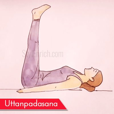 Uttanpadasana to Get Rid Of Belly Fat