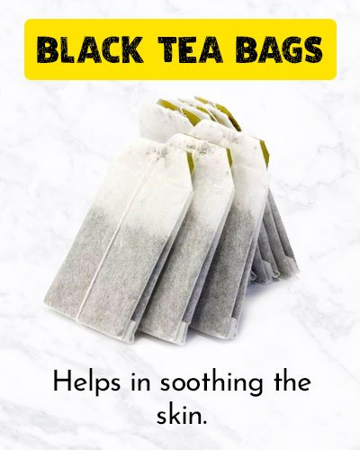 Black Tea Bags To Get Rid Of Ingrown Hair