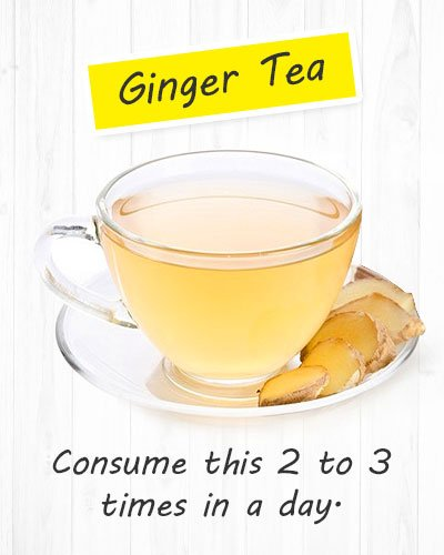 Ginger Tea For Gastritis