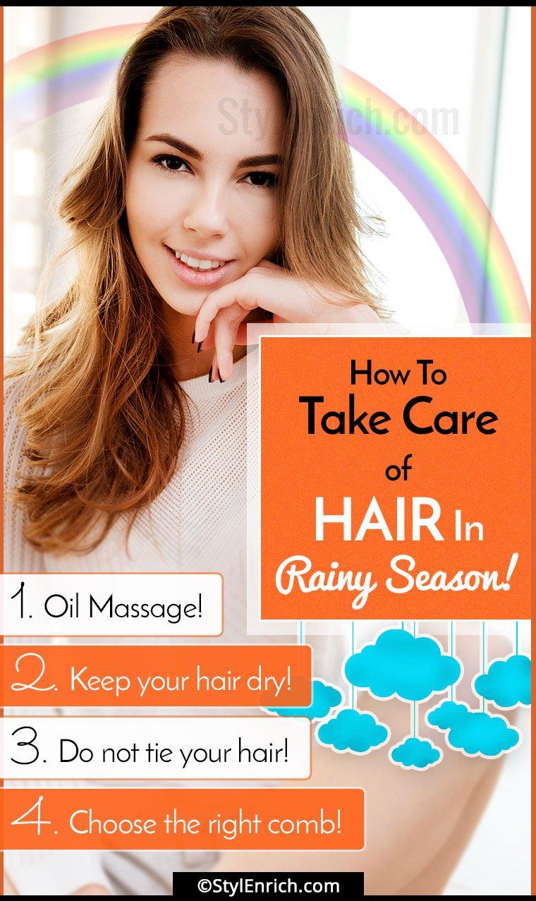 Monsoon Hair Care Tips