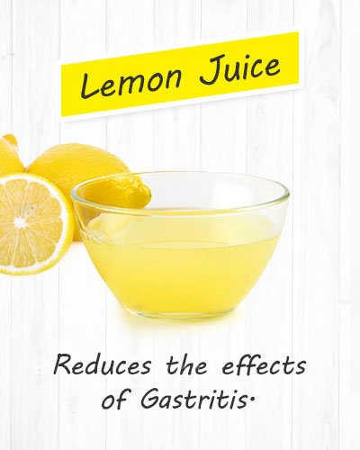 Lemon Juice For Gastritis