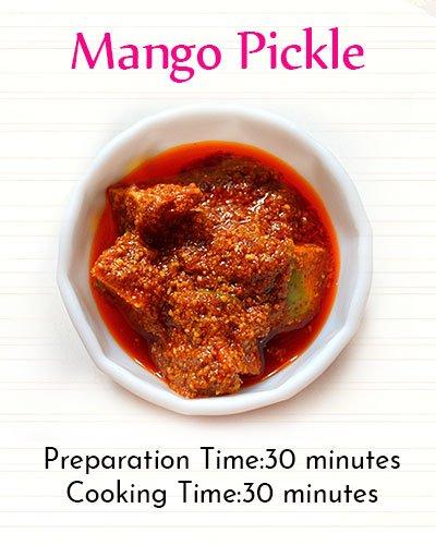 Recipe of Mango Pickle