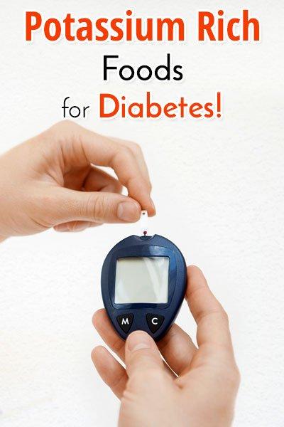 Potassium Rich Foods for Diabetes
