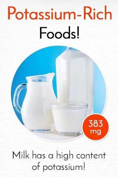 Potassium Rich Milk