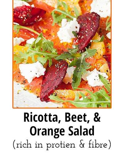 Ricotta, Beet, and Orange Salad Low Sodium Food