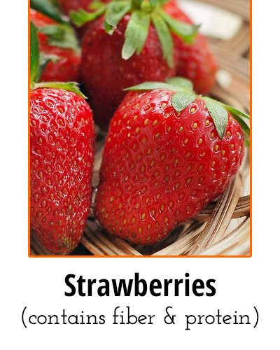 Strawberries Low Sodium Food