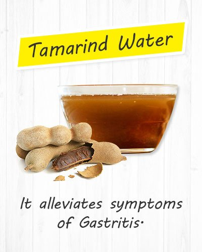 Tamarind Water For Gastritis