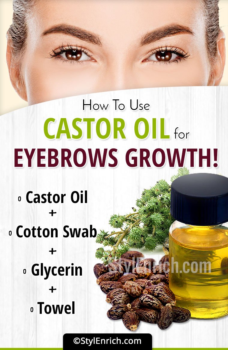 Castor Oil For Eyebrow Growth Detailed Guide On How To Use This Oil
