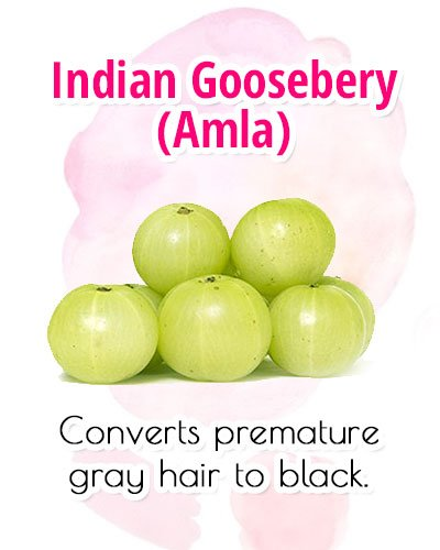Indian Gooseberry For Premature Gray Hair