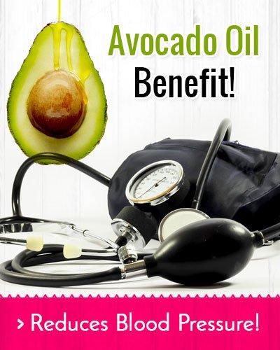 Avocado Oil Reduces Blood Pressure