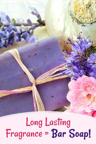 Bar Soap For Long-Lasting Fragrance