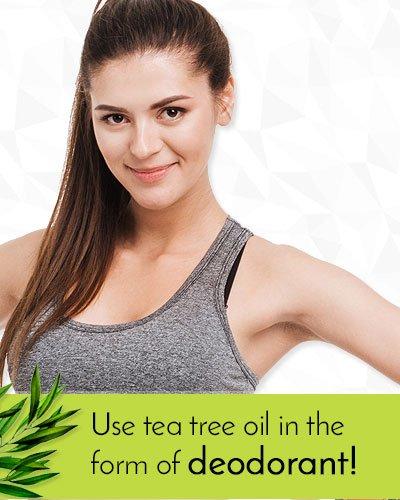 Tea Tree Oil Uses As Deodorant
