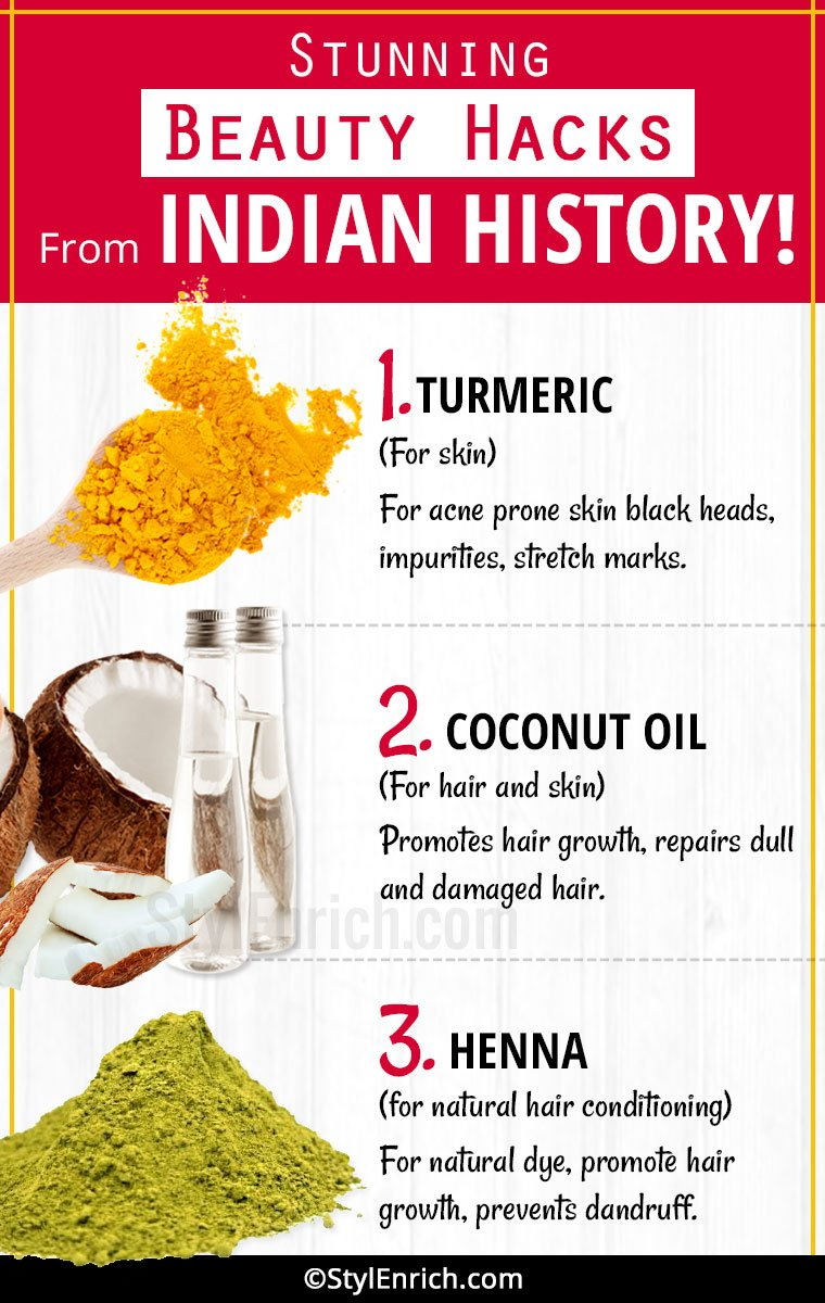 Beauty Hacks From Indian History