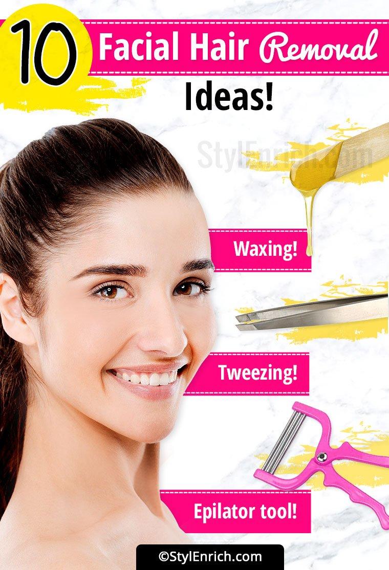 Facial Hair Removal Ideas