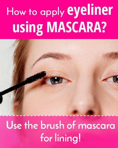 Mascara As Eyeliner