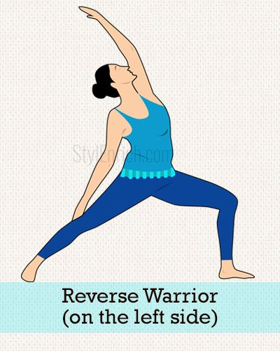 Reverse Warrior (On The Left Side)