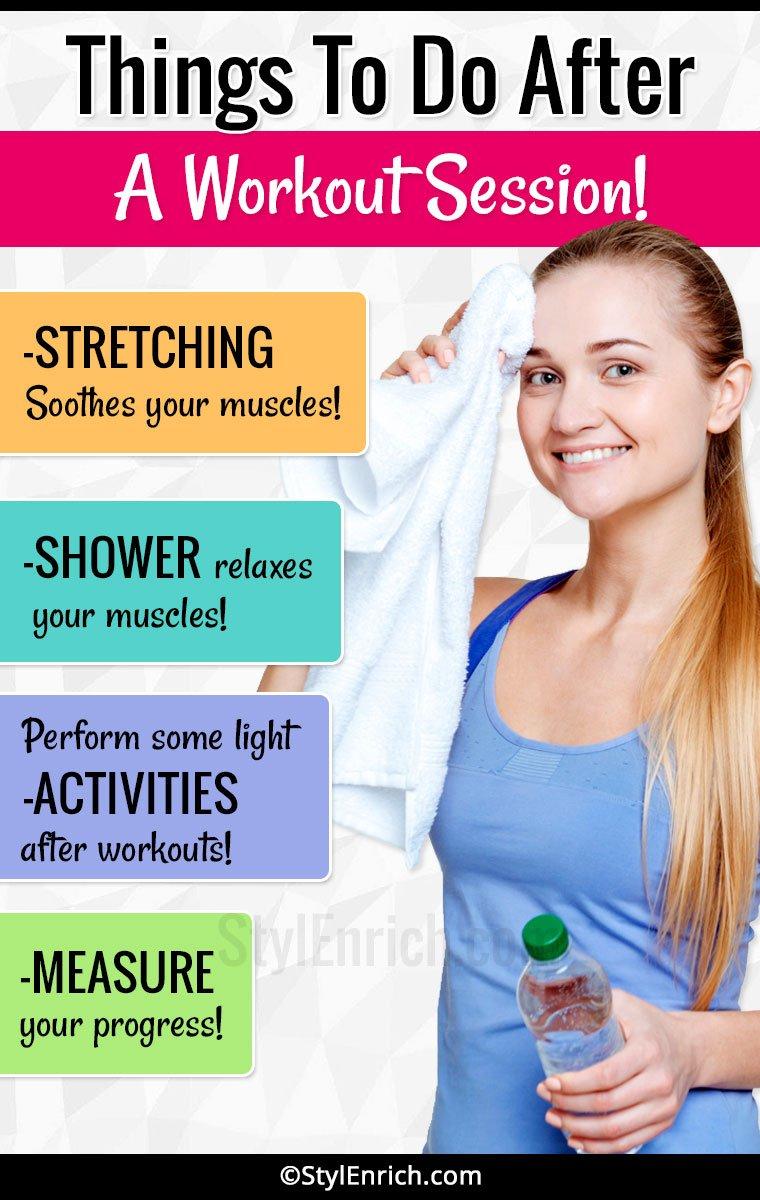 What To Do After Workout