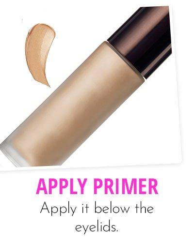 Application Of Primer Makeup