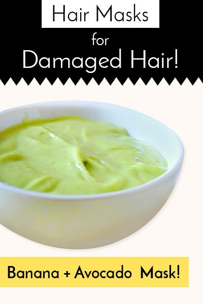Banana And Avocado Hair Mask