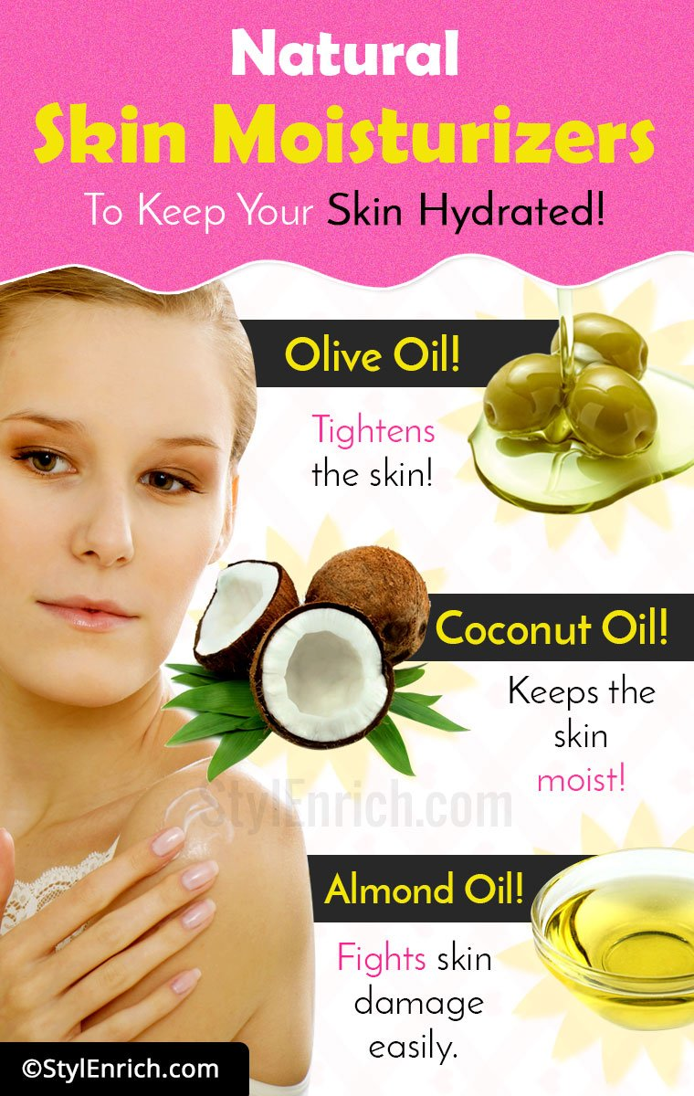 Natural Skin Moisturizers To Keep Your Skin Hydrated