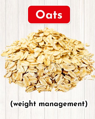 Oats For Weight Management