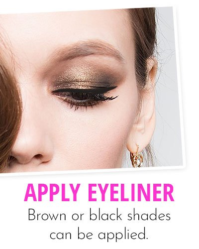 Pop Up With Small Eyeliner