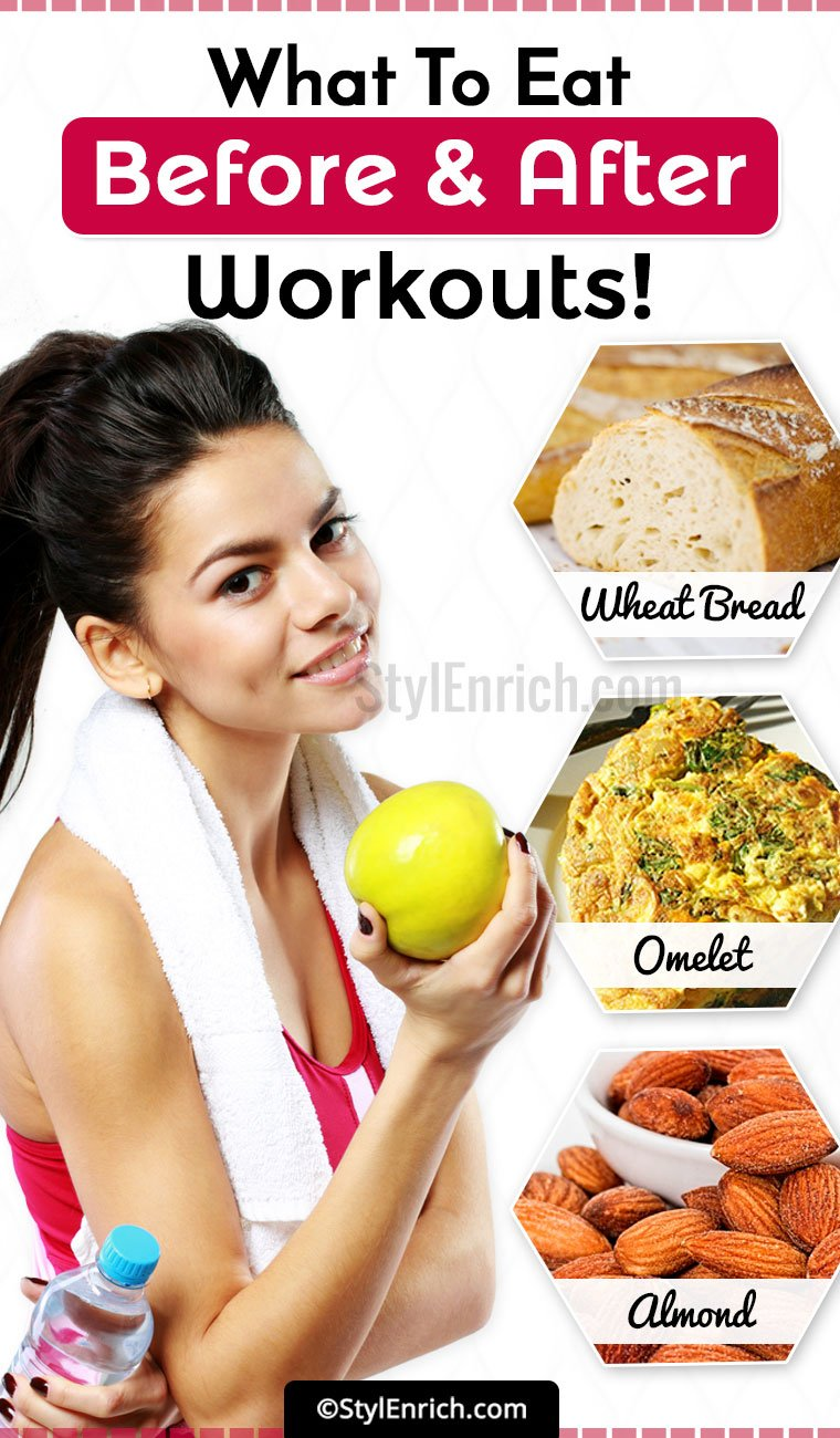What To Eat Before And After A Workout?