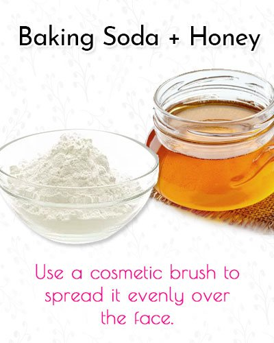 Baking Soda and Honey Blackhead Mask