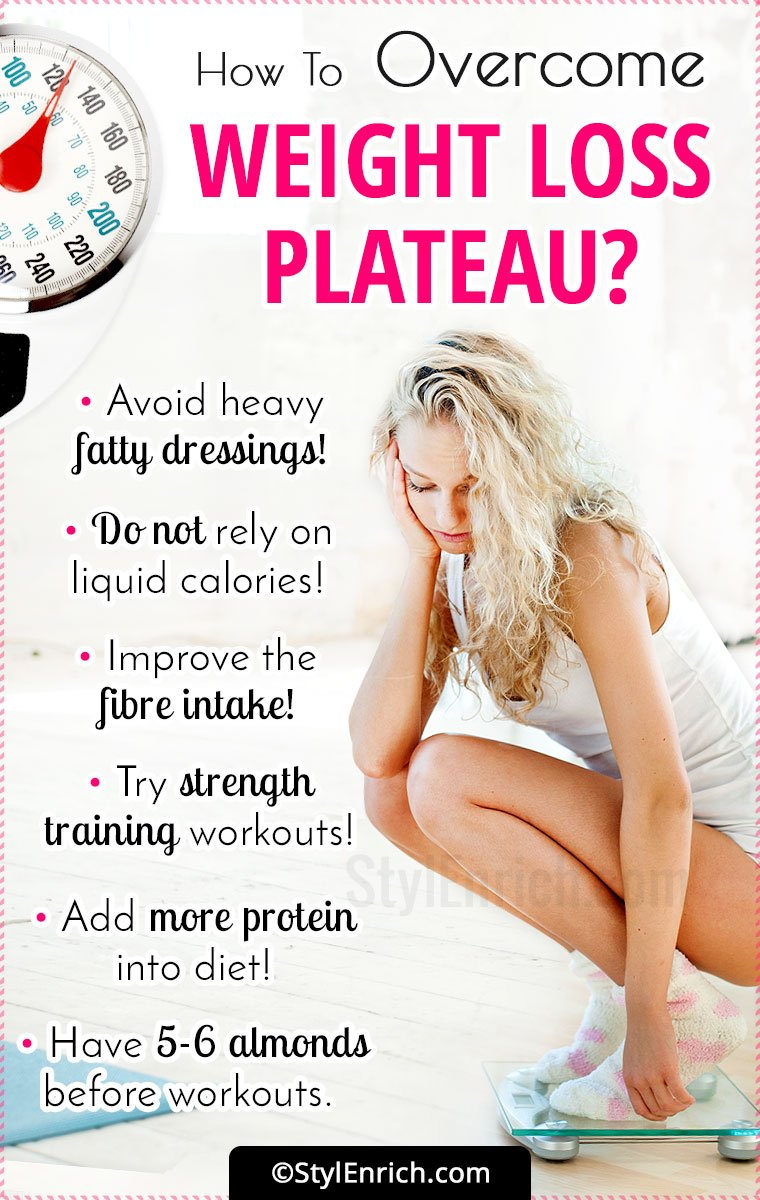 How To Overcome The Weight Loss Plateau?