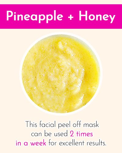 Pineapple & Honey Face Mask