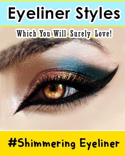 Shimmering Eyeliner