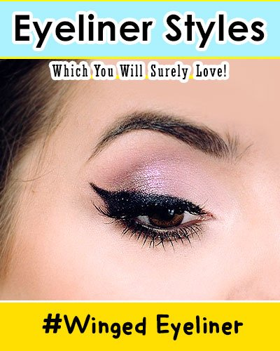 Winged Line Eyeliners