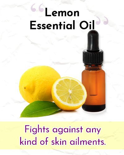 Lemon Essential Oil For Wrinkles