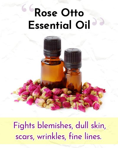 Rose Otto Essential Oil For Wrinkles