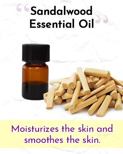 Sandalwood Essential Oil For Wrinkles