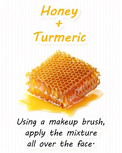 Turmeric and Honey Face Masks